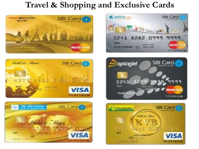 Travel & Shopping and Exclusive Cards