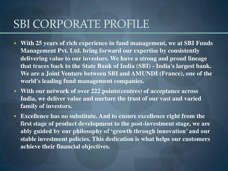 SBI Mutual Fund - A Trusted Brand for Investment