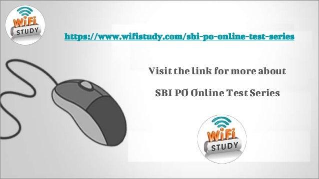 sbi po 2017 online test series