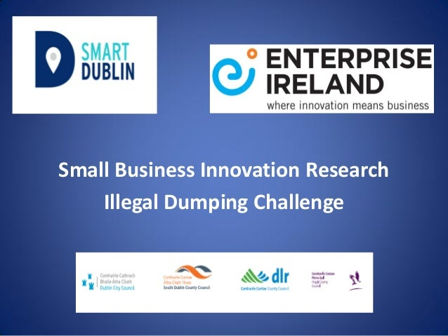 Small Business Innovation Research Illegal Dumping Challenge
