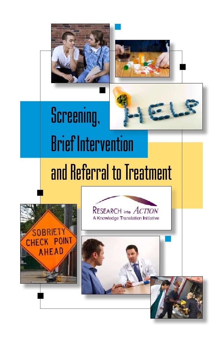 Screening, Brief Intervention and Referral to Treatment