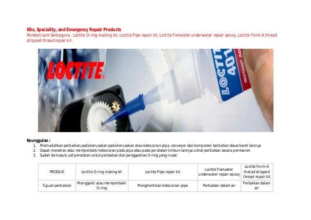 Thread Repair: Loctite Thread Repair Epoxy