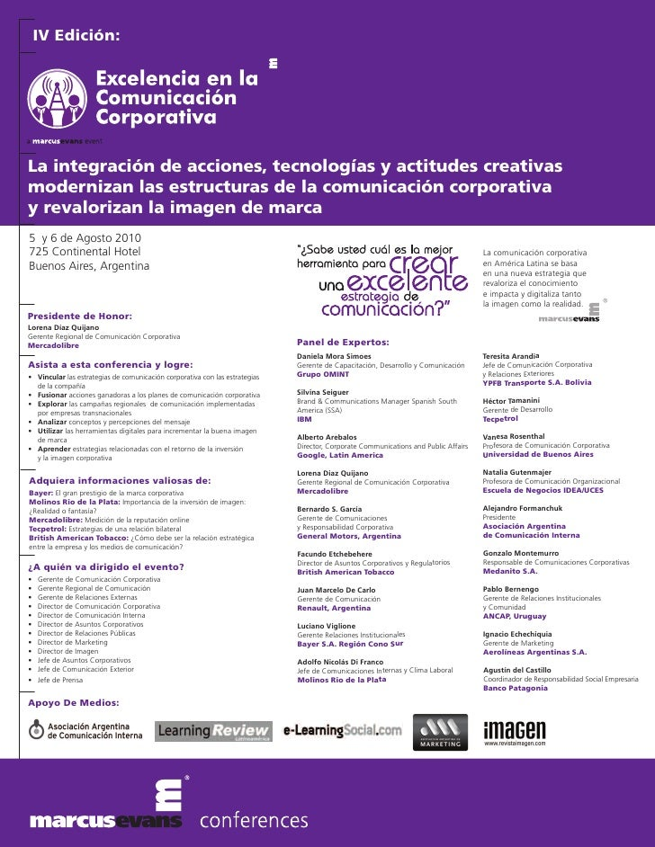 IV Edición:     La integración de acciones, tecnologías y actitudes creativas modernizan las estructuras de la comunicació...
