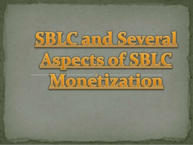  Investing in various banking instruments like SBLC, LOC or BG is actually a very good idea and this can help the busines...