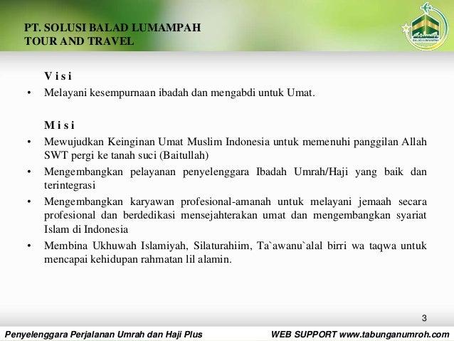 SBL SAHABAT Presentasi Umroh Mudah, Murah dan Amanah Slide 3