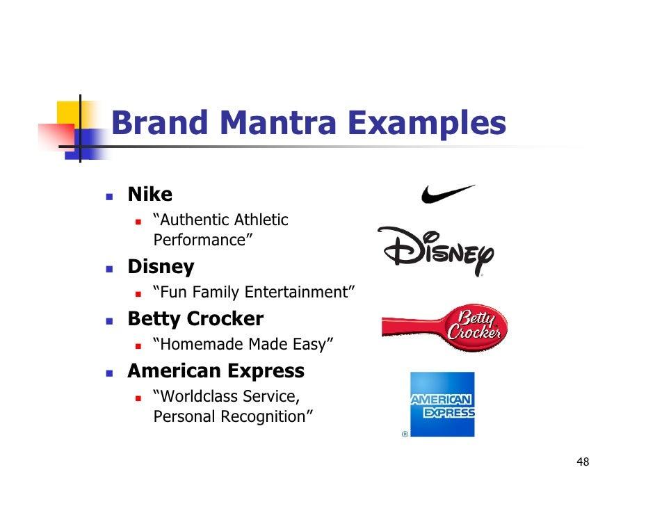 google brand mantra