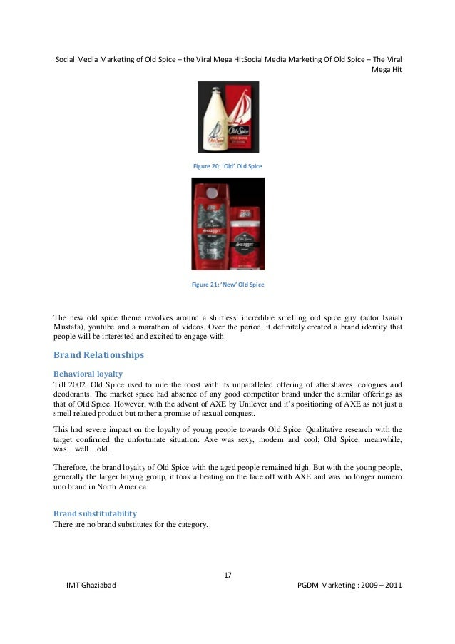 Strategic Brand Management - Campaign Analysis of Old Spice Man 2010
