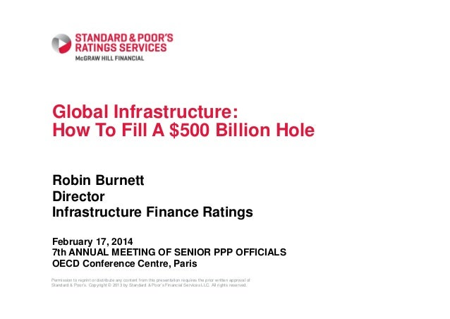 Global Infrastructure: How To Fill A $500 Billion Hole Robin Burnett Director Infrastructure Finance Ratings February 17, ...