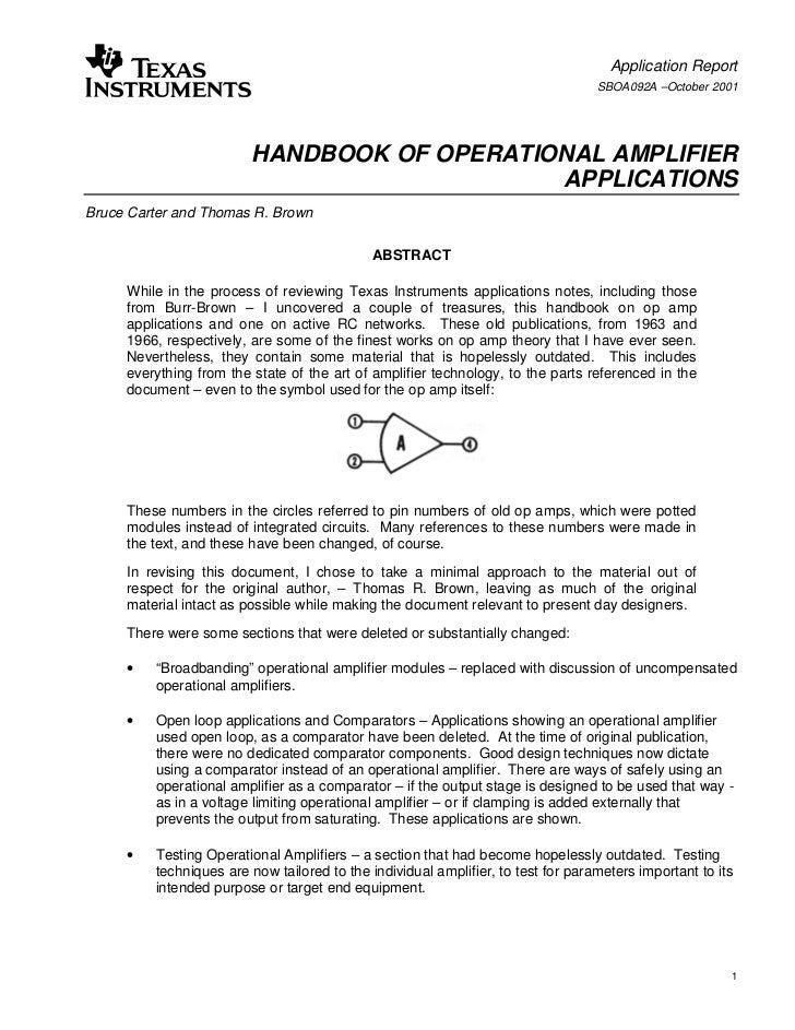 Application Report                                                                                   SBOA092A –October 200...