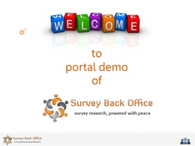 to portal demo of