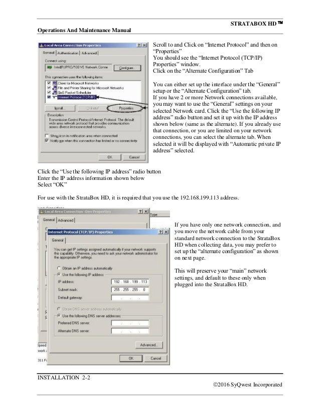 Stratabox HD™ CHIRP Marine Geophysical Instrument Manual