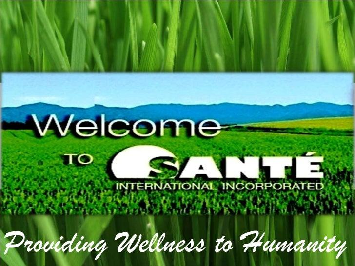 Providing Wellness to Humanity