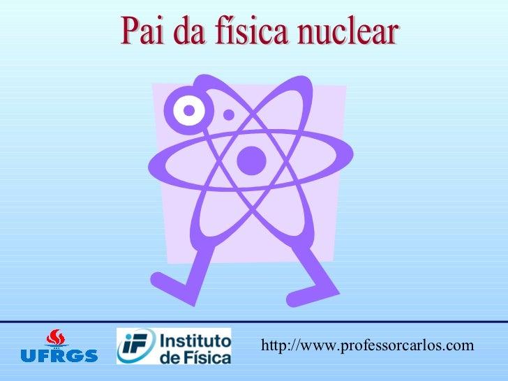Trabalho sobre fisica nuclear