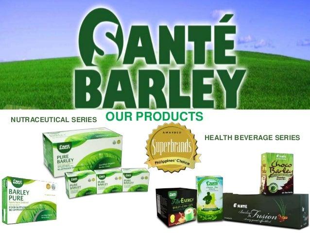Sante PURE BARLEY PHILIPPINES