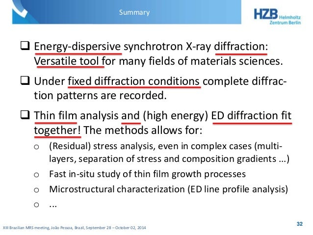 Thesis only phd x ray diffraction