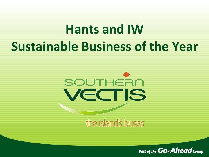 Hants and IW Sustainable Business of the Year