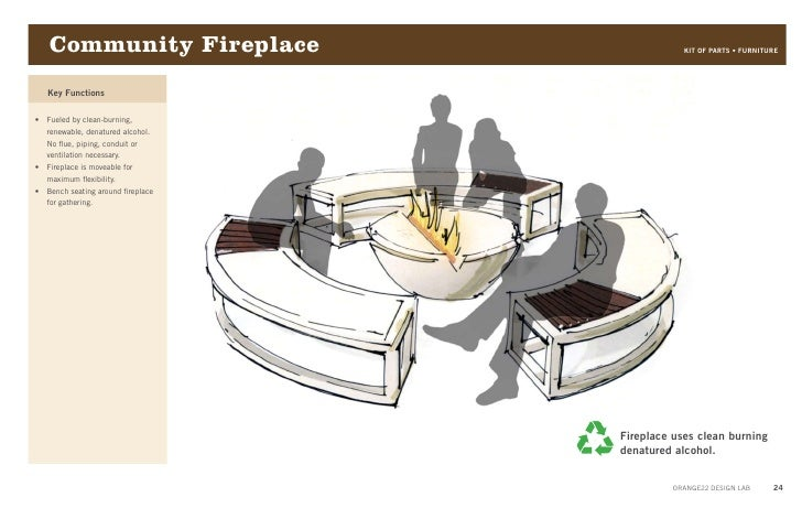 Orange22 starbucks project part 02 design approach for Denatured alcohol for fireplace