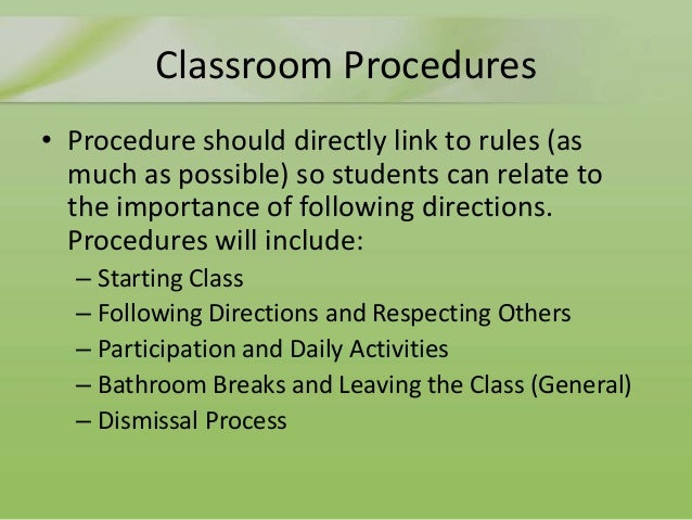 the importance and application of a classroom management plan How will the technology or application i'm that's why it's always important to have plan b the key to quality classroom management is to have a plan.