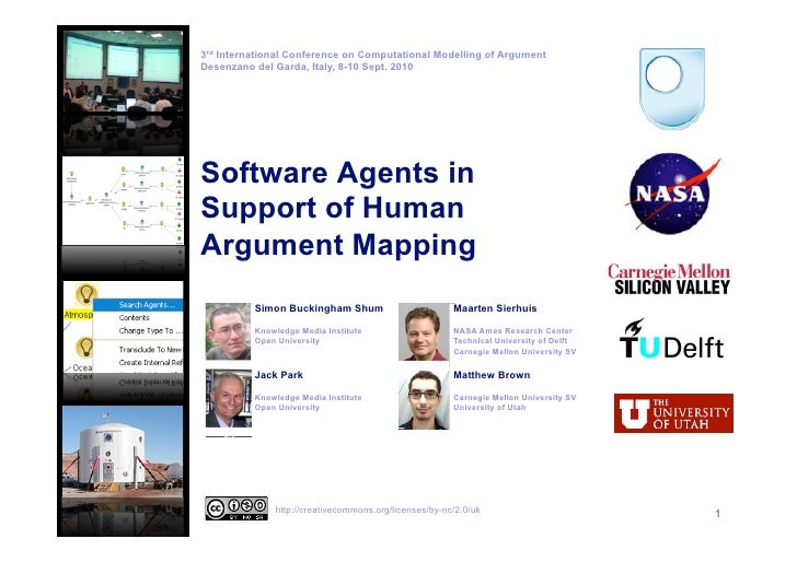 Software Agents in Support of Human Argument Mapping