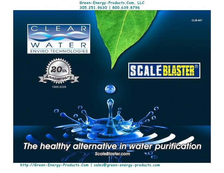 Green-Energy-Products.Com, LLC                           305.251.9630 | 800.639.8796                                      ...
