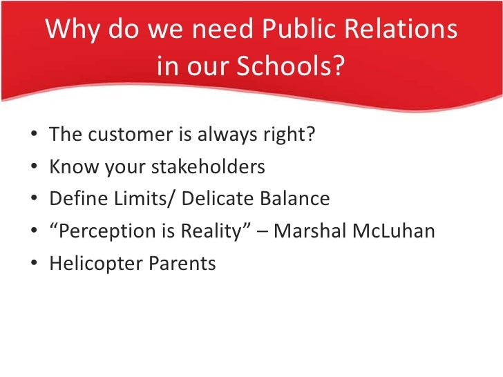 business and community relationship with schools