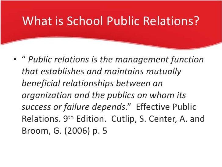 community relations in public relations pdf