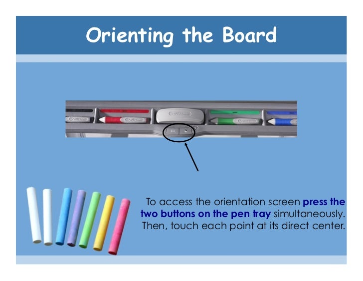 how to use a smartboard tutorial