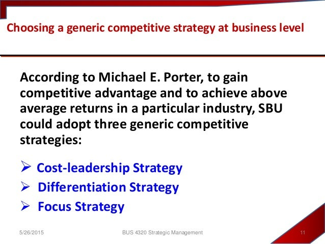 how to gain competitive advantage and profitability according to michael porter Competitive advantage author: michael porter instructor:  michael porter's competitive advantage 1  gain the appropriate firm size.