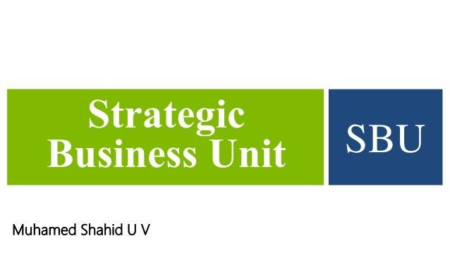 Muhamed Shahid U V SBU