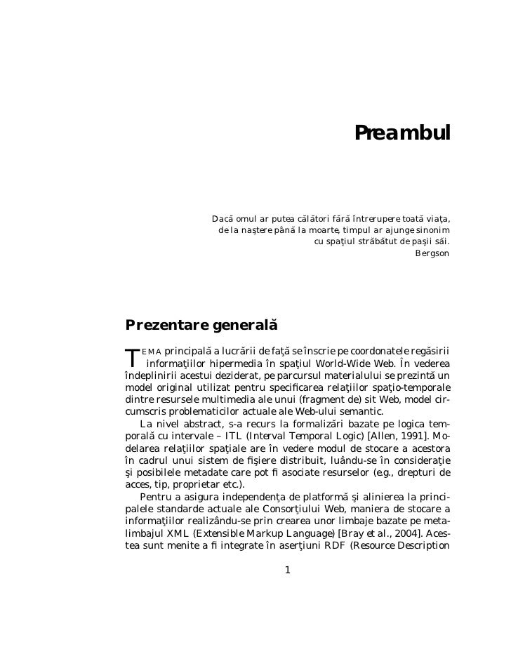 2                          Sabin Corneliu Buraga   Framework) [Beckett, 2004] – cadru oferind interoperabilitate aplica- t...