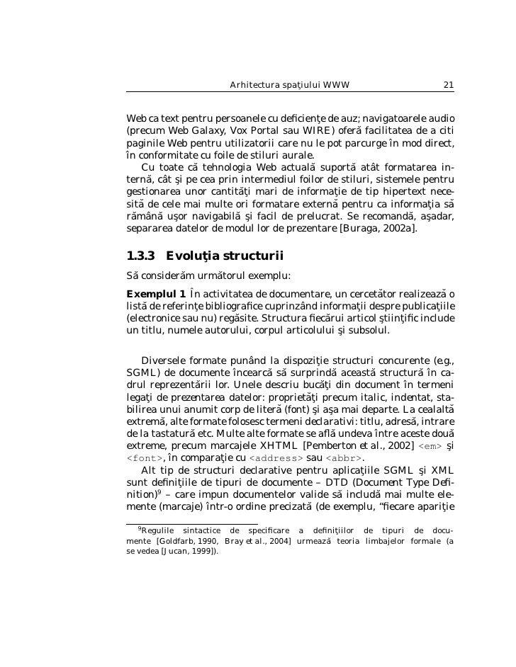 22                        Sabin Corneliu Buraga                                       ˘             ˘ a elementului <ora¸>...