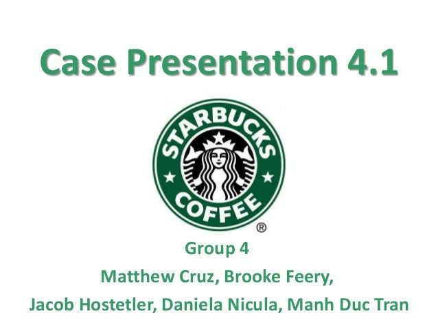 Starbucks Case Study - YouTube
