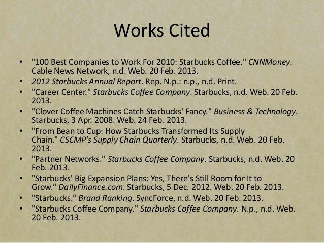 Starbucks CSAs and FSAs