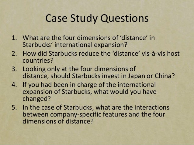 starbucks in japan case study in japan The case study is intended to be used as a basis for classroom discussion rather  in 1996, starbucks entered japan through a joint venture with.