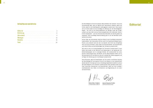 Kennzahlen zur Nachhaltigkeit der Schweizer Landwirtschaft Slide 2