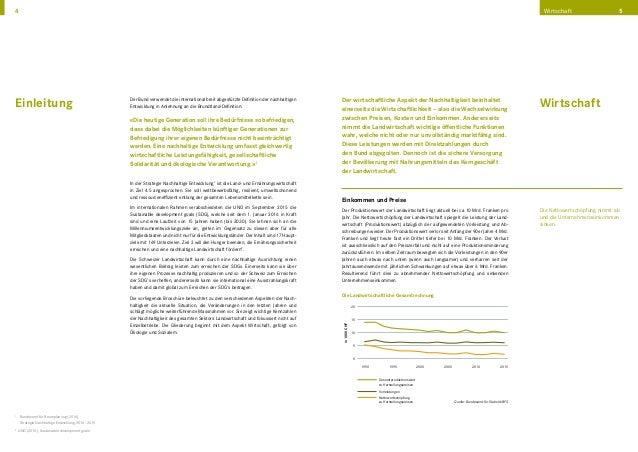 Kennzahlen zur Nachhaltigkeit der Schweizer Landwirtschaft Slide 3