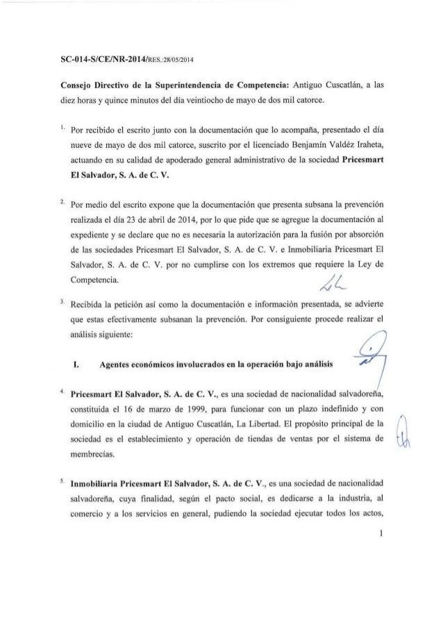 SC-014-S/CE/NR-2014