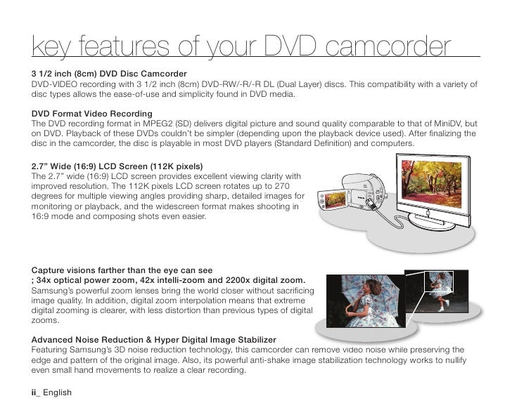 samsung camcorder sc dx200 user manual rh es slideshare net Samsung ManualsOnline Samsung Refrigerator Manual
