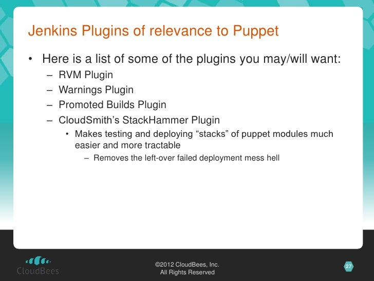 Continuous Development with Jenkins - Stephen Connolly at