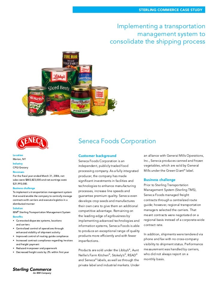 ab foods case study Conagra case study on how conagra foods worked with advertising partners to transform its approach to online advertising, resulting in improved campaign performance and roi.