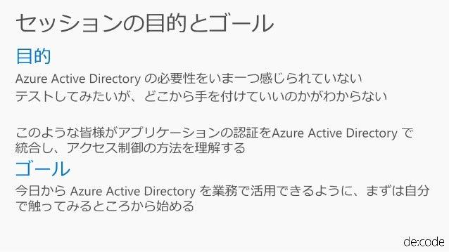 """[SC04] あなたのサービスを """"ID"""" で守る! Azure Active Directory の条件付きアクセスの基礎と実装 Slide 2"""