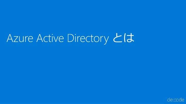 """[SC04] あなたのサービスを """"ID"""" で守る! Azure Active Directory の条件付きアクセスの基礎と実装 Slide 3"""