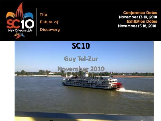 SC10 Guy Tel-Zur November 2010