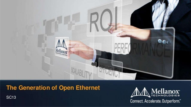 The Generation of Open Ethernet SC13