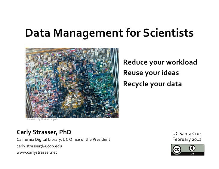 Data	  Management	  for	  Scientists	                       	                                                             ...