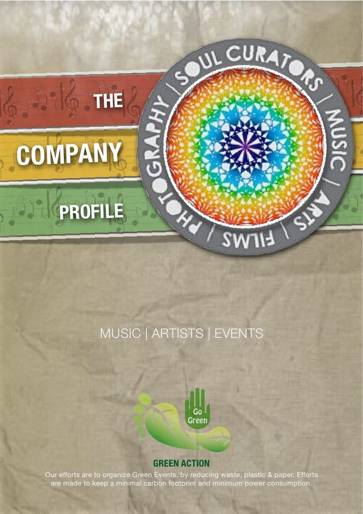 THECOMPANY     PROFILE                  MUSIC | ARTISTS | EVENTS                                  GREEN ACTION Our efforts...