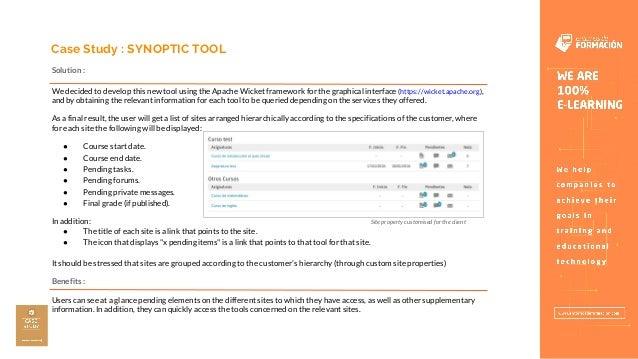 Sakai Synoptic Tool - Entornos de Formación Slide 3