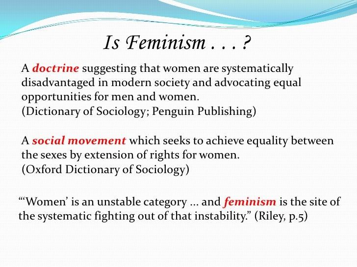 third wave feminism urban dictionary