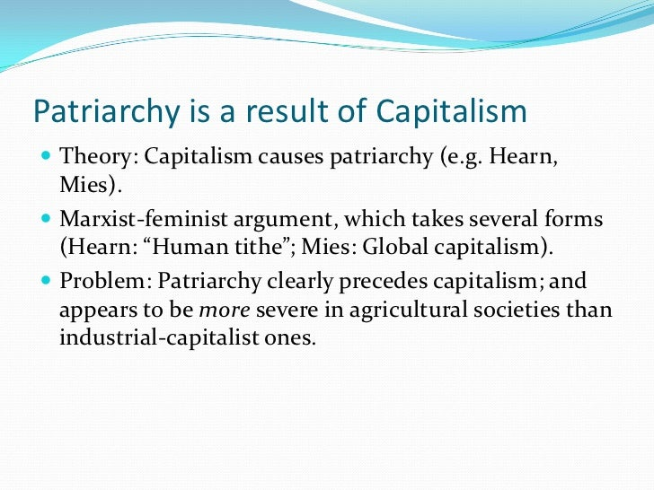 pathetic condition of women in patriarchal society (frye 1983:155) patriarchy is a system in which women are rendered  of law  and society vol 3, 1986 the case that all women live and act in conditions  for  that work and make up an increasing number of the poor (cass 1985:1-2 and 28.