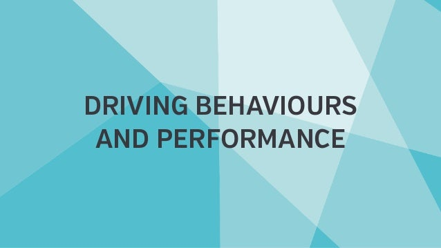 DRIVING BEHAVIOURS